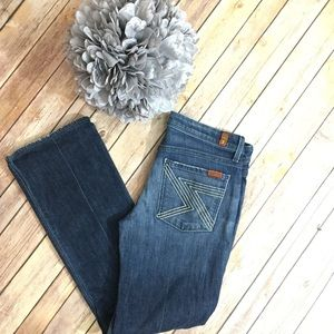 7FAM flynt 27 jeans. Excellent condition 😎